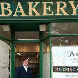 Picture Of Cardiff`s Pettigrew Bakeries gets ready to open its doors