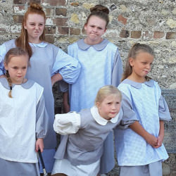 Picture Of Annie and the orphans take to the stage in West Sussex!