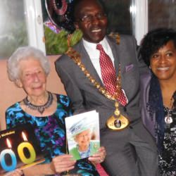 Picture Of Babs celebrates 100 with party at St Mary`s House