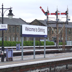 Picture Of New outlets at Stirling train station